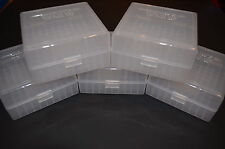 223 / 556 / 300 BLACKOUT (5 PACK) AMMO BOXES / STORAGE (CLEAR COLOR) BERRY MFG