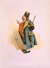 SIGNOR Bumble da kyd 1899 da Charles Dickens Oliver Twist 7x5 pollici RISTAMPA