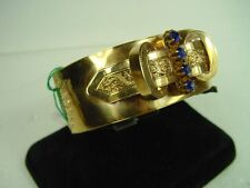 Bracciale rigido borbonico in oro
