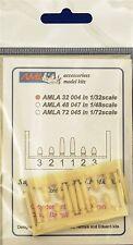 Aml A32004 resin 1/32 s. spitfire lf mk. ixe-housse de barils sans armes