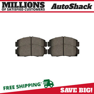 Front Metallic Brake Pads for 1999-2007 2008 TL 2006-2009 Civic 2003-2010 Accord