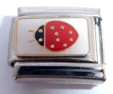 LADYBIRD Italian Charm 9mm LadyBug Insect Spotty Bugs E26 fits Classic Bracelets