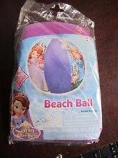 Disney Princess Sofia the first Kids Child Pool Beach Ball Toy New sand water