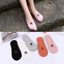 Girls Low Hosiery Short Kawaii Animal Red Heart Socks Women Casual Cotton Sock