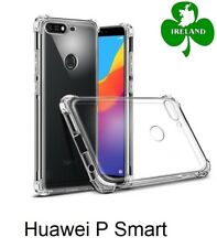 For Huawei P Smart Case Cover Crystal Clear Gel Protective ShockProof Case