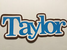Taylor or Personalized Name Title/Sign Party, Wall,Door,Table Decor,Scrapbooking