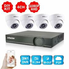 4CH Full HD 1080P Home Video Security System-4 Channel 2MP AHD/Onvif IP/Analog H