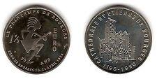 Bourges (Printemps), 1,5 euro, 1996 - Euros temporaires des villes