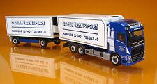 Herpa 306997 Volvo FH 2013 Globetrotter cambio refrigeración maleta camiones transportista Garbe