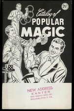 Rare Magic Book Catalog Of Popular Magic Tricks Conjuring