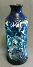 Fat Lava Keramik Vase Roth Ebernhahn Blau, Weiß, Schwarz