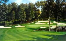 # 11  At The Classic  By Leo Stans Golf Print Maddens in Brainard Signed