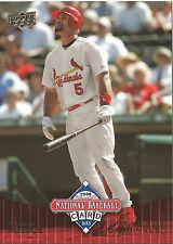 100 Card Lot 2008 UD NBCD Albert Pujols Cardinals Mint