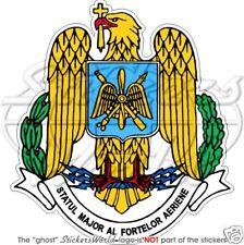 ROMANIA Romanian Air Force Badge - Vinyl Sticker, Decal