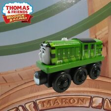 THOMAS & FRIENDS WOODEN RAILWAY ~ GREEN SALTY ~ LOOSE OPEN BOX EXCLUSIVE VARIANT
