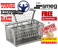 Best quality dishwasher cutlery basket, suits Smeg - FREE POST Reinforced base.
