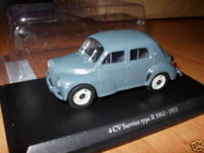 4CV11 Voiture 1/43 RENAULT eligor/ hachettes n°23  4 CV service 1953 type R1062