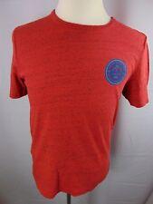 Buffalo David Bitton Liberty Distressed Casual SS T-Shirt Men's M Cotton Blend