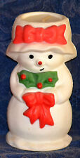 """Vintage Collectible Mrs. Snowlight Bayberry Fragrance Candle, H: 5"""", 1979"""
