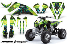 Kawasaki KFX 450 AMR Racing Graphic Kit Wrap Quad Decals ATV 08-14 ZOMBIE GREEN