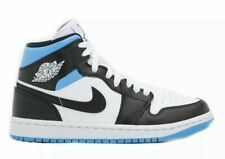 Nike Air Jordan 1 Mid Universidad Azul Negro BQ6472-102 W Wmns Talla 6-11