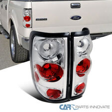 Ford 04-08 F150 F-150 Styleside Pickup Clear Tail Lights Rear Brake Lamps Pair