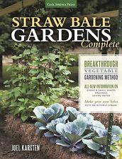 The ORIGINAL STRAW BALE GARDENS™ revolutionary method for all organic vegetables