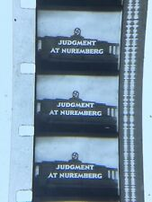 16mm Sound B/W Feature Judgement At Nuremberg Tracy,Lancaster classic1961 uncut