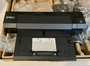 Dell E-Port Plus Advanced Port Replicator PR02X with USB 3.0 and 240W Adapter
