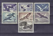 """Österreich  1950 Flugpostserie """"Vogelsatz"""" komplett  feinst postfrisch"""