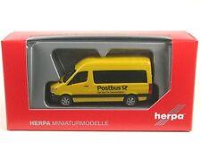 "Herpa H0 092531 Mercedes-benz SPRINTER 2013 Autobus tetto alto ""bus Postale"""