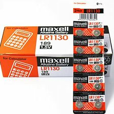 100 MAXELL LR1130 AG10 189 L1131 389 V10GA 1.5 V BATTERY