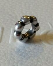 Authentic Pandora Sterling Silver Big Bubble Spacer Charm 925 ALE 790155 Retired