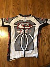 Panache Feedback Sports Cycling Jersey Medium Full Zip Made In Italy