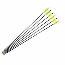 12PCS 26inch Fiberglass Shaft Arrows Spine 1200 For Recurve Bow arrows Archery