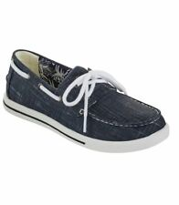 NEW LL BEAN Size 8 M Women's Canvas Sneakers Navy BlueTwo Eye Sunwashed