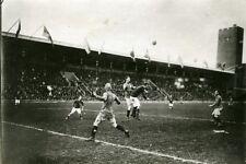 Sweden Stockholm Football match Sweden Denmark Old Photo Trampus 1920