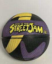Vintage Street Jam Basketball Outdoor MultiColor Super Tread Grip 1990's Rare