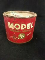 Vintage Model Smoking Tobacco Tin Great Graphics and Color 19