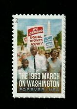 MARCH ON WASHINGTON, DC 2013 US SCOTT #4804 EQUALITY ISSUE MNH VF FOREVER STAMP
