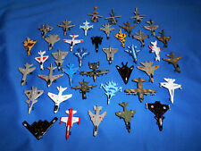 MODERN MILITARY AIRCRAFT Set of 40 Mini Die-Cast Toy JETS & HELICOPTERS Italian
