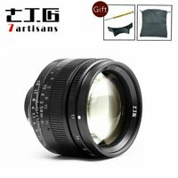 7artisans 50mm F1.1 Leica M Mount Fixed Lens for Leica M-Mount Cameras Black New