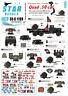Star Decals 1/35 Vietnam Pistolet Camions #6 #35-C1199
