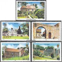 GB-Jersey 381-385 (kompl.Ausg.) postfrisch 1986 National Trust