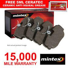 PASTIGLIE dei freni anteriori Mintex Set per SMART CABRIO CITY-COUPE FORTWO ROADSTER 0.6 NUOVO