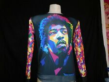 Jimi Hendrix Long Sleeved Shirt Two Sided size Xl