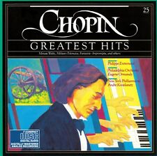 CD Frédéric Chopin Greatest Hits Nocturne Polonaise Minute Waltz Prelude A Major
