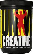 Universal Nutrition Creatine Monohydrate CREAPURE 500 Grams Unflavored