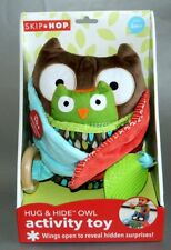 Skip Hop Baby Treetop Friends Hug-And-Hide Wise Owl Activity Toy Multi-Color New