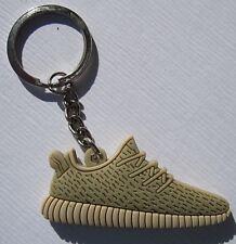 Adidas Yeezy Boost 350 Oxford tan llavero keychain nuevo (a53v)